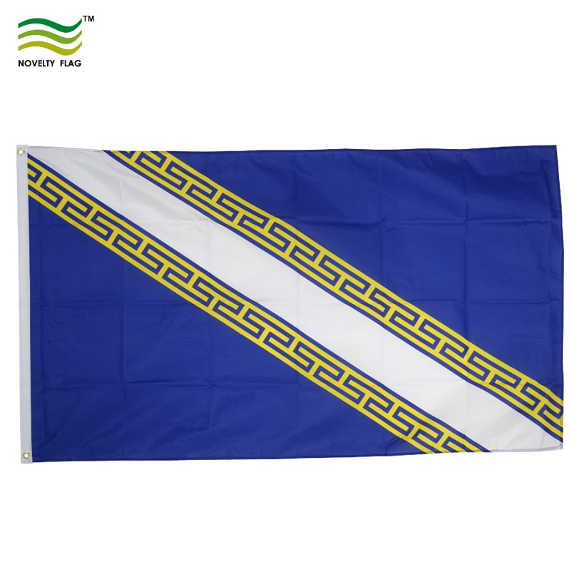 France-Champagne-Ardenne- 3' X 5' Polyester Flag