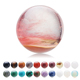 Wholesale natural rock polished rose quartz stone sphere rose & K9 crystal ball