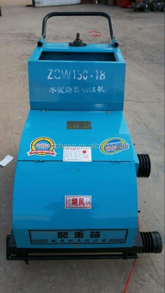 electric concrete floor cutting machine
