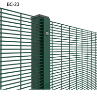 Cheap Plastic Metal Anti Climb 358 Security Fence