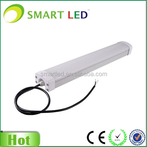 60w 1500mm tri-proof led housing/batten ip65 tri explosion proof light