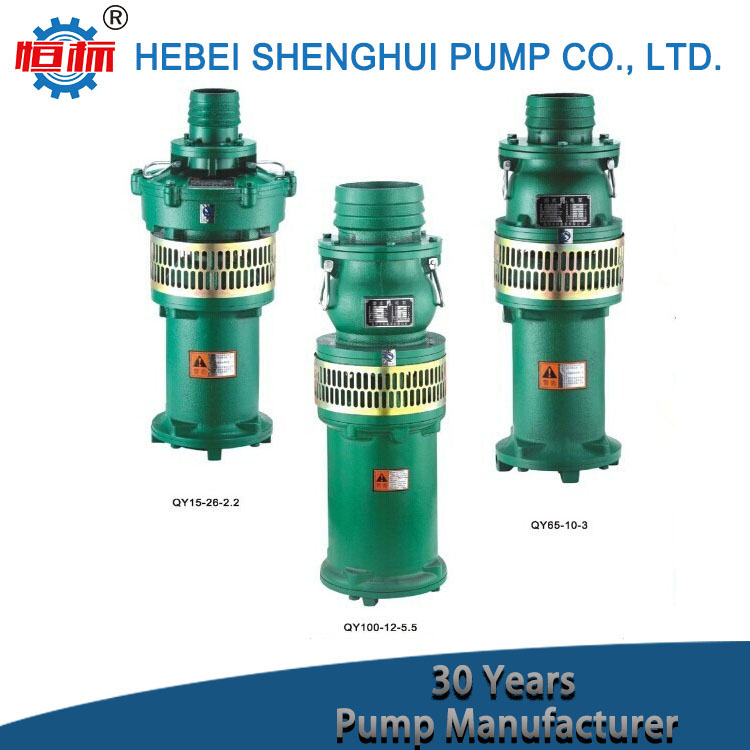High head and large flow rate ac electric powered deep well irrigation centrifugal high pressure submersible water pump