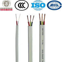 Easy Peel Sheath Copper Conductor 2core+earth Flat TPS PVC Power Cable