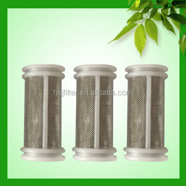 High Quality Plastic Stainless Steel Mesh Auto Parts Oil Filter