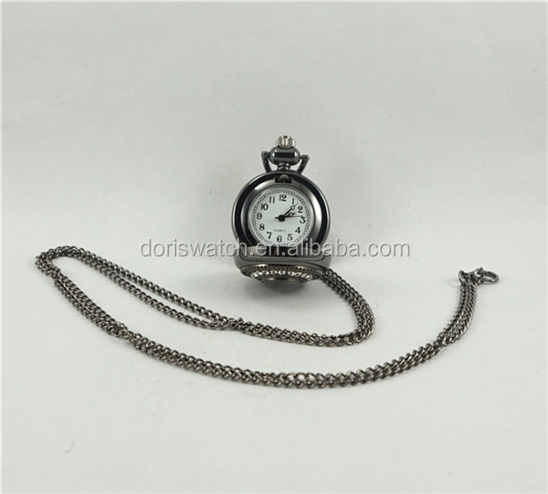 Jewelry style Japan movt quartz fashion pocket watches