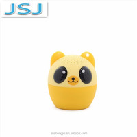 6 Designs Portable Cute Mini Animal Bluetooth Speaker Latest Promotional Gift Items