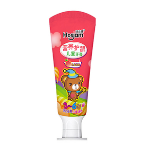 wholesale best selling toothpaste honey peach flavor for dental hygiene kids tooth paste