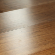 High Quality Carbonized Click Joint Indoor Strand Woven Bamboo Flooring With Ce