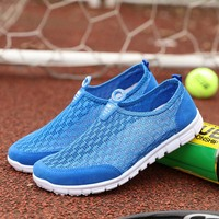 DMS1487 Alibaba Hot selling men shoes/men s casual shoes/ net fabric shoes