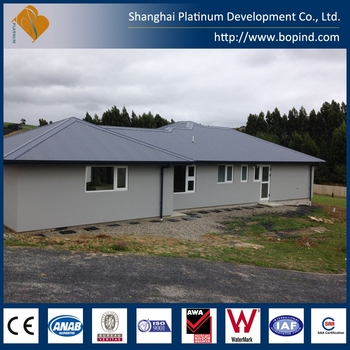 Shanghai Platinum economic prefab LGS cabin, prefabricated cabin house