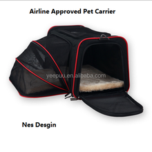 Expandable Foldable Washable Pet Carrier/Airline Approved Pet Carrier