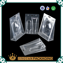 Professional customized plastic clear transparent trifold clamshell blister packaging