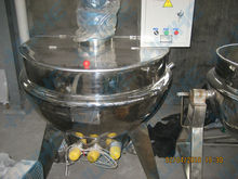 electric/steam/gas burner heating jacketed kettle