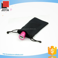 Logo Embossed Microfiber Mobile Phone Pouch