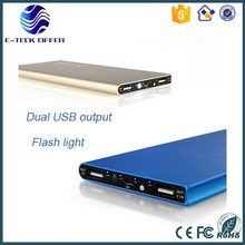 Best selling products in America Super slim dual USB powerbank 20000mah ,portable rohs mobile power bank 20000mah