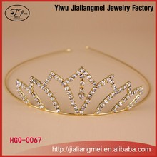 Fashion silver wedding bridal tiaras flower <strong>crown</strong> for girl