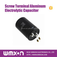 ISO9001 Screw Terminal UCGHA Aluminum Electrolytic Capacitor for TV
