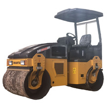 road machinery double drum vibratory road roller for sale