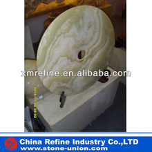 Green onyx stone small sculpture