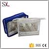 Various Type Stand Up Waterproof PVC Cosmetic Custom Trolley Travel Makeup Bag