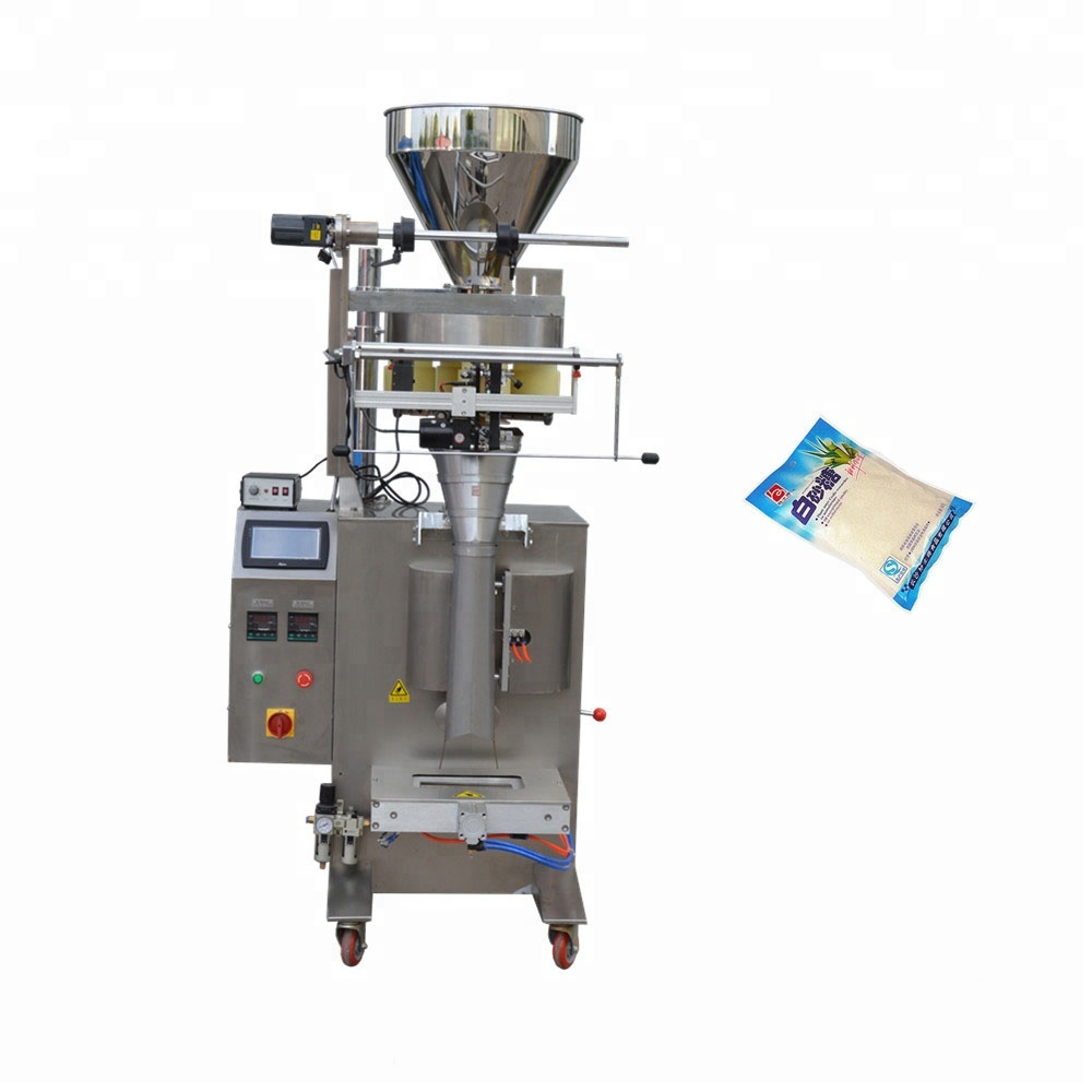 VFFS packing machine for plastic bags/ <strong>rice</strong> sugar beans packer equipment