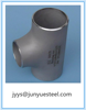 High Pressure Tube Fittings Stainless Steel Pipe Fitting Tee