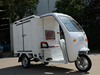 with side door and closed box express electric tricycle with OPEN cabin E-rickshaw