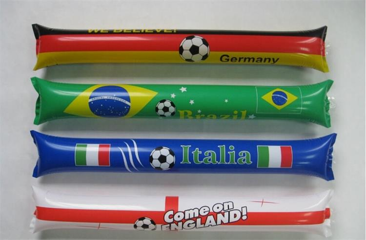 Promotion Cheer Inflatable Sticks Football Noisemakers Party Favors Thunder Sticks