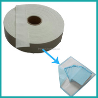 Factory wholesade best price absorbing paper for underpads