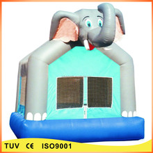 Popular outdoor inflatable jumping house elephant inflatable kids bouncer for sale