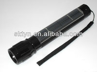 2012 hottest emergency solar light led torch T101A