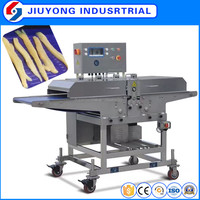 304 Stainless steel automatic fresh meat strip dicing cutting machine for beef pork poultry