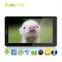 Cheapest 7 inch tablet pc repair MTK6572 256MB+512MB 800x 480 Wifi Two SIM Cards GPS P1000 MID