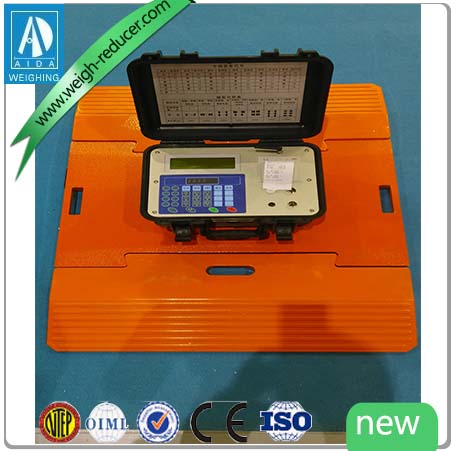 SCS electronic 50 ton portable truck scale for sale