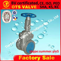 GV-SY--516 Carbon Steel rising stem Gate valve bolted bonnet outside screw with yoke