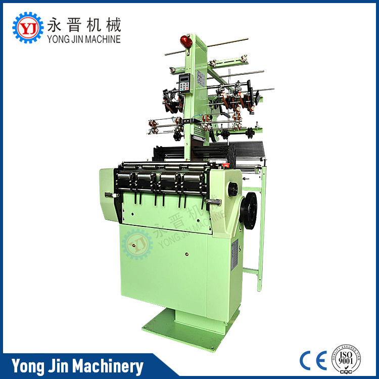 High efficiency hand braiding machine