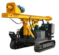 Construction machinery vibratory hammer hydraulic pile driver
