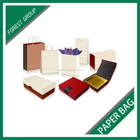 NEW STYLE RECYCLED PAPER BAGS FOR PACKING GIFT BOX WITH HANDLES