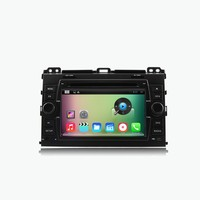 "2015 new A9 dual core 7"" Android 4.4 Car DVD for Toyota Land Cruiser Prado 120 Series ( 2003-2009 ) with Capacitive touch Screen"