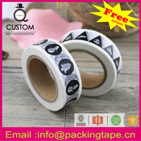 Free sample customized printed tape with CE certificate