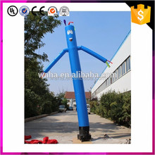 Advertising tube mini inflatable sky air dancer dancing man
