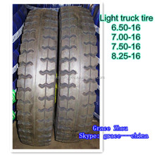 Philippines market light truck tire 7.50-16 with deep pattern