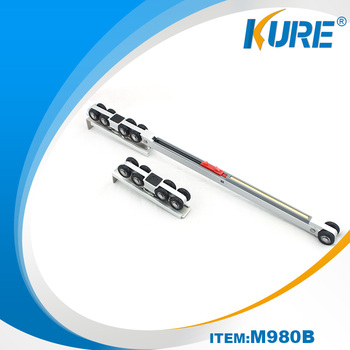 80Kg Bearing Heavy Duty Industrial Sliding Door Roller