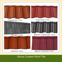2016 hot sale stone coated metal roof tile/aluminium zinc roofing sheet