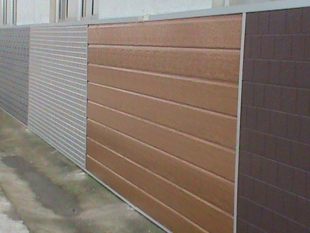 exterior cladding decor metal facade wall panels