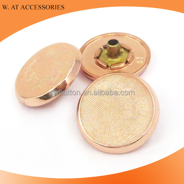 Wholesale metal snap button gold snap button