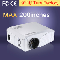Best Quality Home New 2016 LED HD Large Screen Lens Mini Projectors Support HDMI AV VGA USB AUDIO Business Gifts