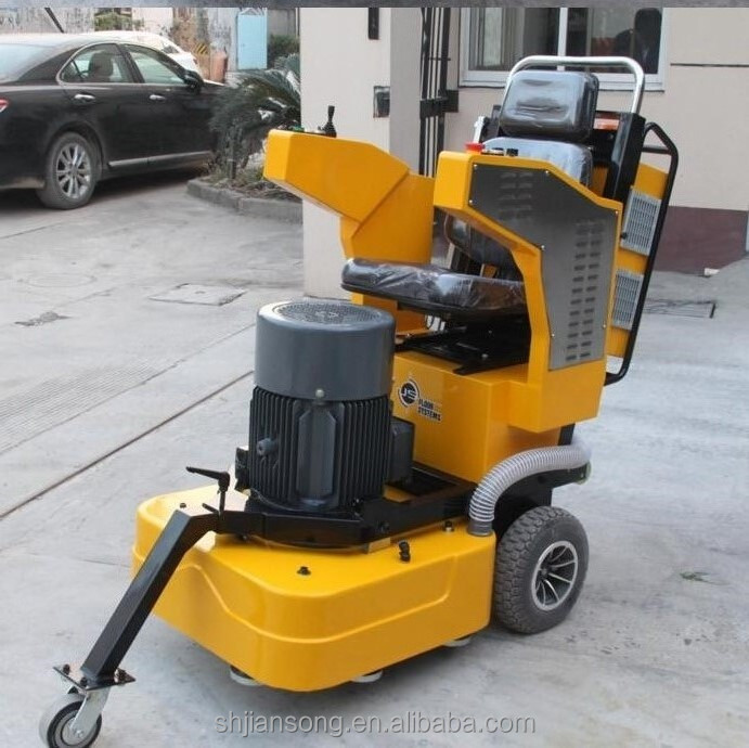 D780 Ride on 20HP 4 head grinder imported oil seals Concrete grinding machine