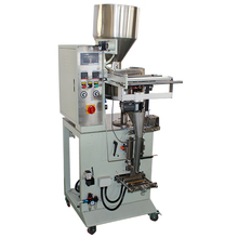 Tea Bag Packing Machine With A Thread And A Tag