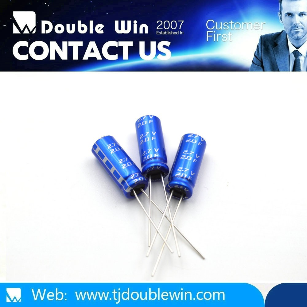 Radial Super Capacitor 2.5V 4.7F 20F,25F,30F,UltraCapacitor